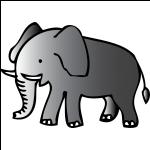 Schmuck mit Elefantenmotiven